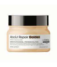 L'Oreal Exper 2021 Маска золотая для повреждённых волос восстанавливающая Absolut Repair Gold 250 мл